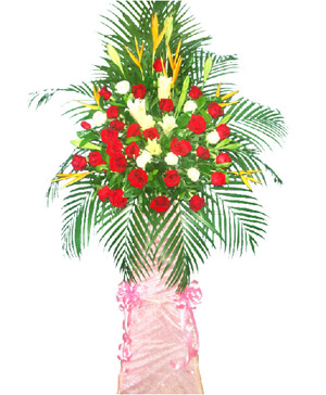 Celebration flowers basket