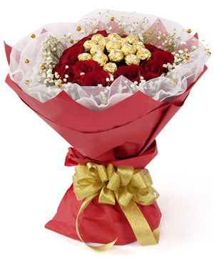 send chocolates bouquet