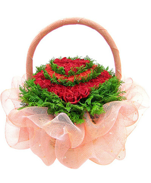 flower basket delivery China