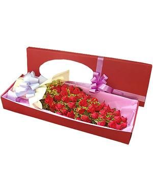 Roses in Gift Box