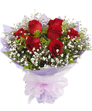 9 stems Red Roses