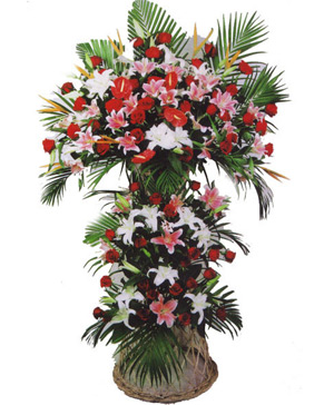 Business Flowers Basket