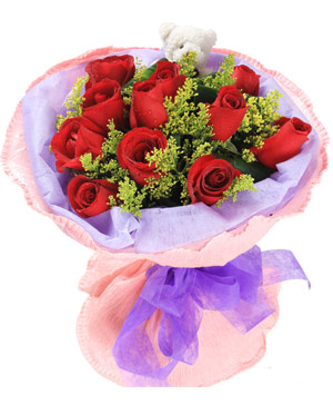 China Flower Delivery | 11 Red Rose