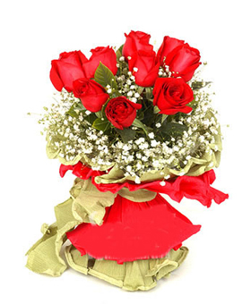 Beautiful 9 red roses