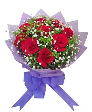 9 Red Rose